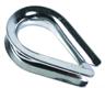 Коуш для стальных канатов DIN 6899