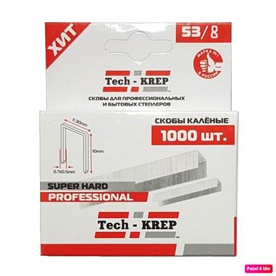 Скобки для степлера TECH-KREP SKM Tип 53 - 8 мм (1000 шт) - фото 7420