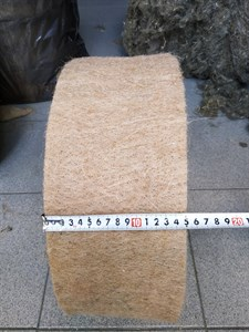Джут ширина 15 см * длина рулона 20 м (толщина полотна 6 мм)
