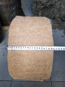 Джут ширина 20 см * длина рулона 20 м (толщина полотна 6 мм)