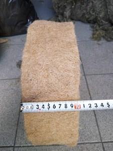 Джут ширина 10 см * длина рулона 20 м (толщина полотна 8 мм)