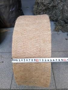 Джут ширина 15 см * длина рулона 20 м (толщина полотна 10 мм)