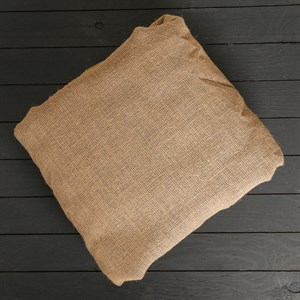 Мешковина джутовая, плотность ткани 360 гр/м2 (рулон 105 см*100 м)