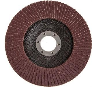 Круг лепестковый торцевой КЛТ 125*22 мм Р 80 (10 шт.)