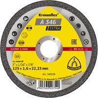 Отрезной круг Kronenflex® Extra A 346 EX D-125, прямой