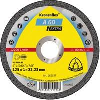 Отрезной круг Kronenflex® Extra A 60 EX D-125, прямой