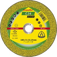 Отрезной круг Kronenflex® Extra C 24 EX D-125, вогнутый