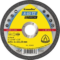 Отрезной круг Kronenflex® Special A 60 TZ D-125, прямой