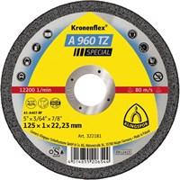 Отрезной круг Kronenflex® Special A 960 TZ D-125, прямой