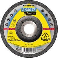 Отрезной круг Kronenflex® Special A 980 TZ D-125, вогнутый