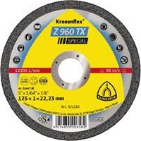 Отрезной круг Kronenflex® Special Z 960 TX D-125, прямой