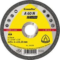 Отрезной круг Kronenflex® Supra A 60 N D-125, прямой