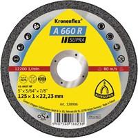 Отрезной круг Kronenflex® Supra A 660 R D-125, прямой