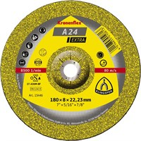 Обдирочный круг Kronenflex® Extra A 24 EX, D-125 мм, вогнутый