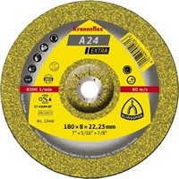 Обдирочный круг Kronenflex® Extra A 24 EX, D-180 мм, вогнутый